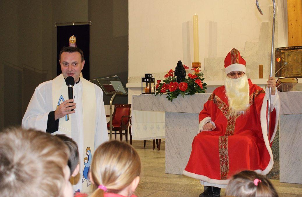 Wizyta św.Mikołaja