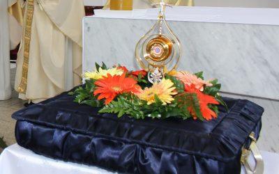 Uroczyste wprowadzenie Relikwii Jana Pawła II
