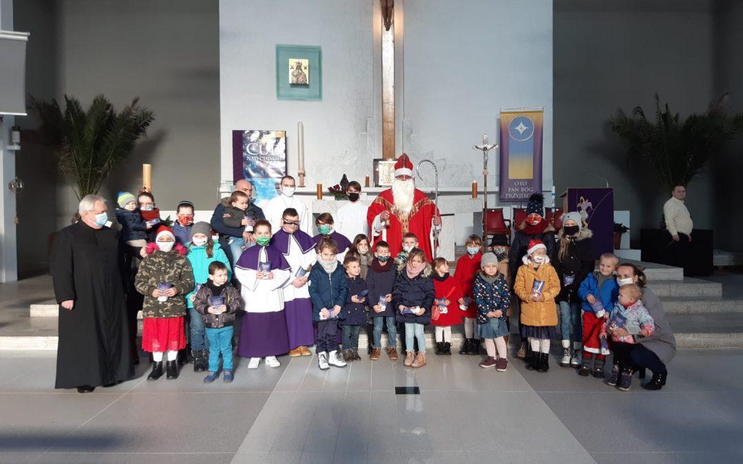 Św.Mikołaj na Roratach